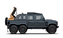 Kahn Design Design - Flying Huntsman Coach built 6X6 Soft Top