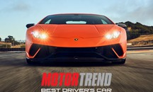 Lamborghini Huracan Performante best driver car del 2018