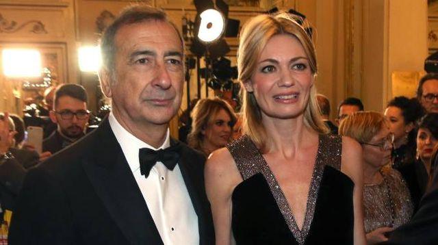 Il sindaco Sala e la compagna Chiara Bazoli