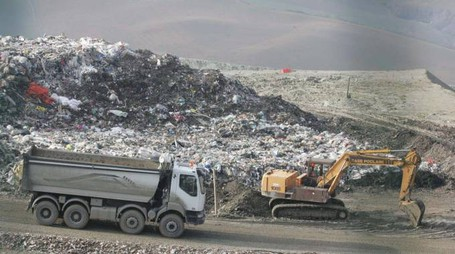 La discarica Tre Monti