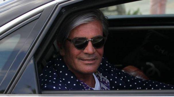 CONTI IN ROSSO L'imprenditore civitanovese Cesare Paciotti (foto LaPresse)