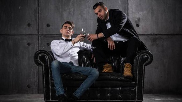 "Il duo rap ""Fainest"""