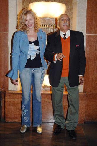 Rosaura Marchi e Silvio Spaccesi (Foto LaPresse)