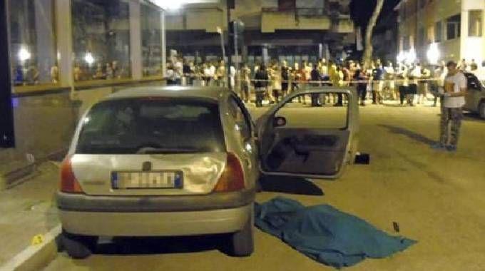 L'omicidio di Martinsicuro (Foto Ansa)