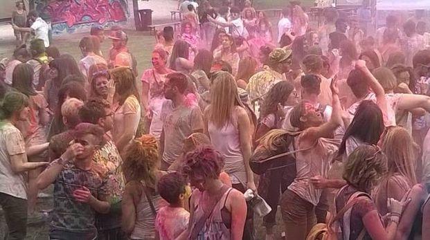 """Ascoli, il """"Color Festival"""" dello scorso anno al giardino Colucci"""