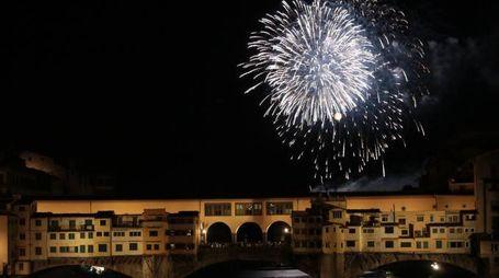 """I """"Fochi"""" di San Giovanni a Firenze (Cabras/New Press Photo)"""