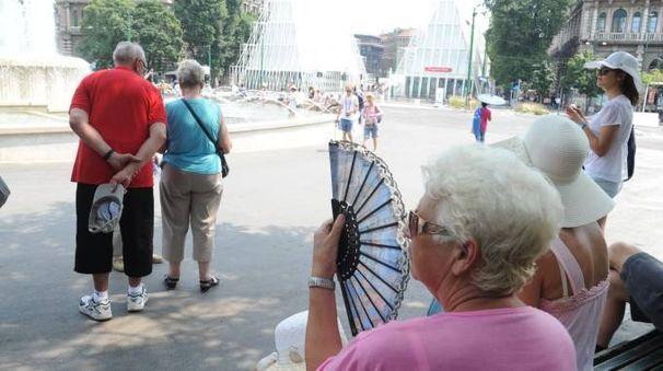 Anziani e il caldo