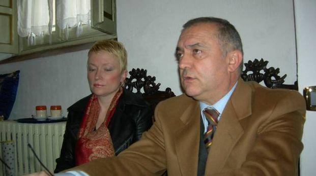 Jolanta Lewandowska e l'avvocato Martino Boschiroli