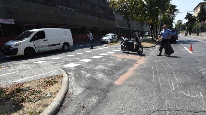 L'ultimo incidente verificatosi in viale Panzacchi è costato la vita al ventiduenne Alessandro Masina