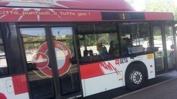 Un autobus Seta a Reggio