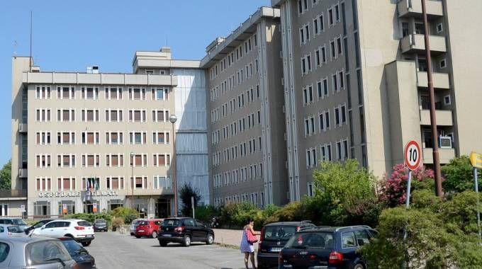 L'ospedale Delmati di Sant'Angelo Lodigiano