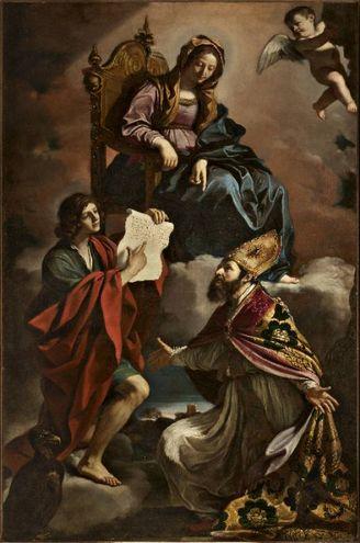 La tela del Guercino rubata a Modena