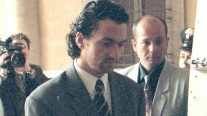 Marino Occhipinti durante un'udienza del processo