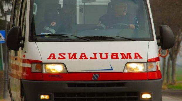 Immediato l'arrivo dei soccorsi sul posto (foto d'archivio)