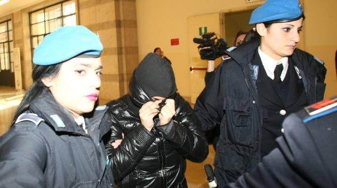 UDIENZA Martina Levato durante il processo (Newpress)