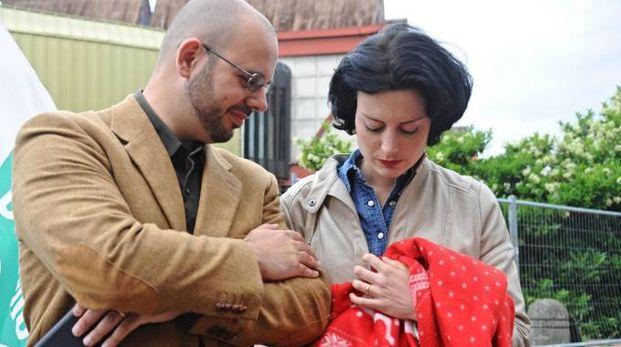 I genitori di Sofia, Caterina e Guido