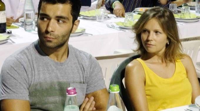 Danilo Petrucci con la fidanzata Irene Saderini (Ballante Photopress)