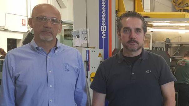 Enzo e Tiberio Farolfi, amministratore unico  e responsabile tecnico di Farbo