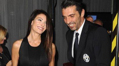 Ilaria D'Amico e Gianluigi Buffon (Newpress)
