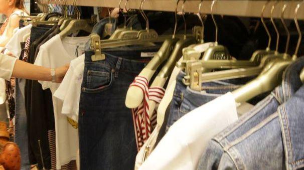 Un negozio (foto Nucci/Germogli)