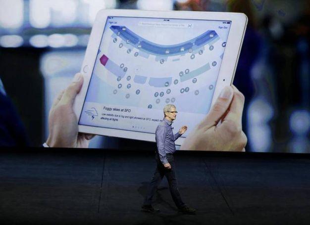 Il nuovo iPad Pro (Ansa)