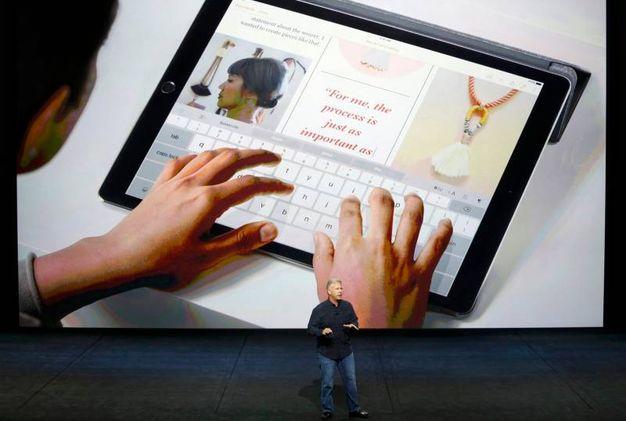 Il nuovo iPad Pro (LaPresse)