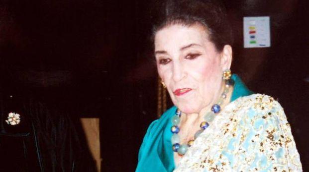 Il soprano Licia Albanese