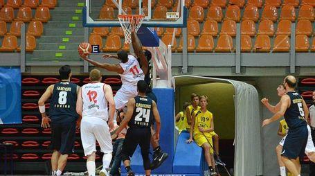 Livorno basket Trofeo Allianz gara Pistoia-Torino
