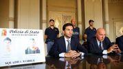 La conferenza stampa (foto Businesspress)
