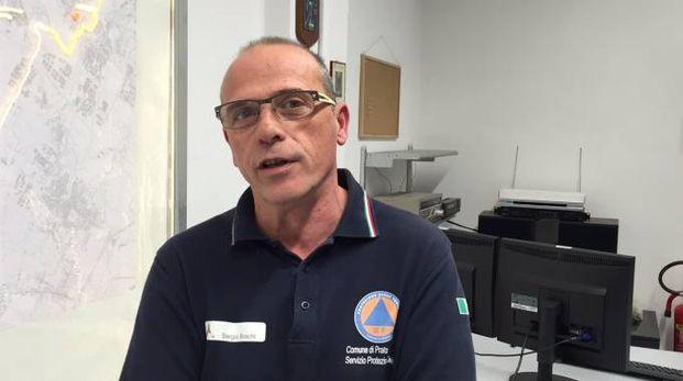Sergio Brachi, protezione civile Comune di Prato