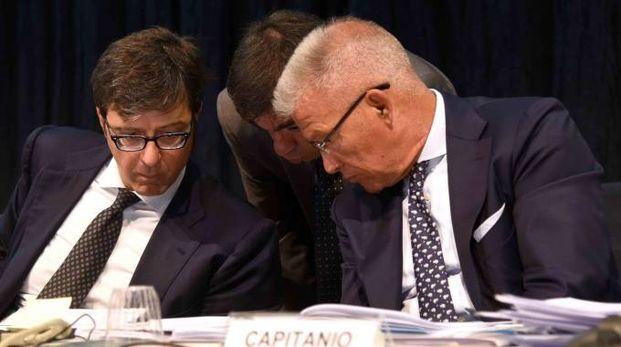 I due commissari Blandini e Capitanio