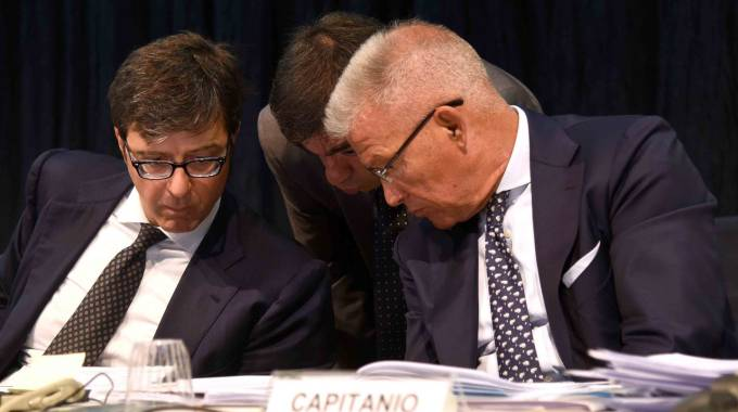 I due commissari Blandini e Capitanio