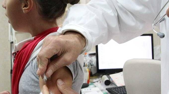 Una vaccinazione (repertorio)
