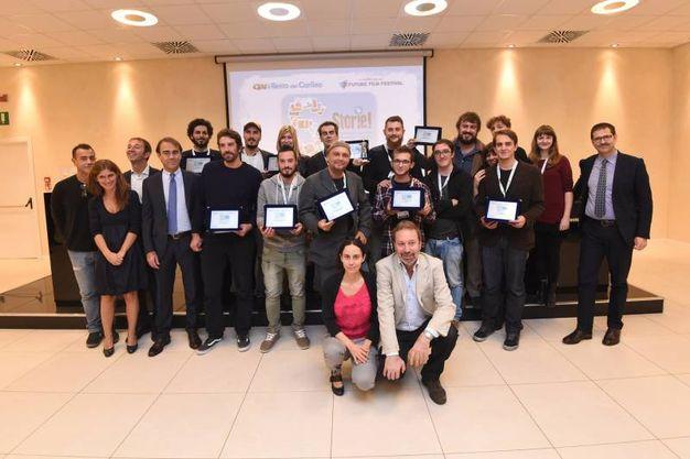 Foto di gruppo: i premiati (foto Schicchi)