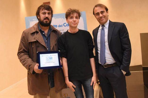 Menzione speciale per Damiano Giacomelli e Lorenzo Raponi (foto Schicchi)