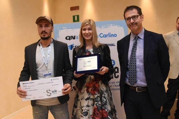 Il terzo premio a Boris e Predrag Stajevski (foto Schicchi)