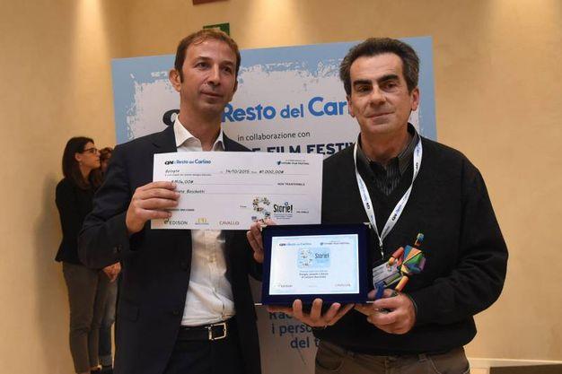 Luciano Boschetti ha vinto il premio Edison (foto Schicchi)