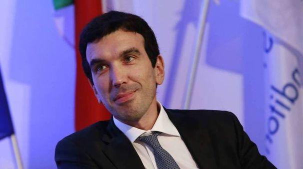 Il ministro dell'Agricoltura, Maurizio Martina (foto Olycom)