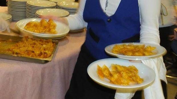 Tortelli di zucca pronti per essere serviti a tavola (foto Antonio Lecci)
