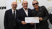 Paolo Gatti, Beppe Boni e Luca Carboni (FotoSchicchi)