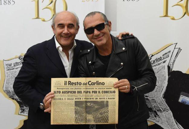 Beppe Boni e Luca Carboni (FotoSchicchi)