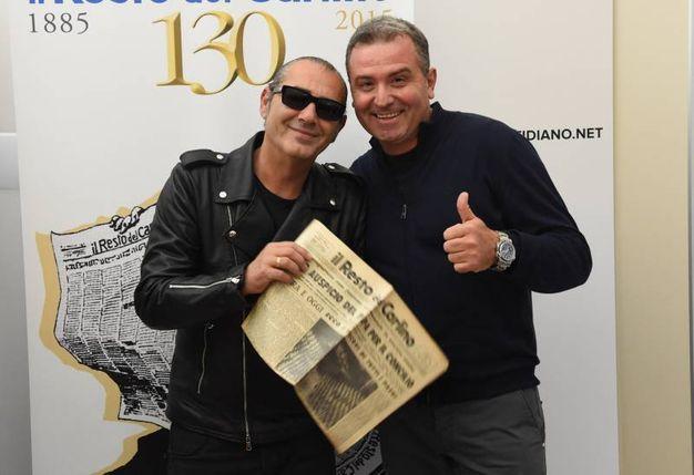 Luca Carboni e Antonio Tortora (FotoSchicchi)