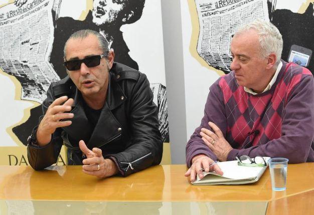 Luca Carboni intervistato da Pierfrancesco Pacoda (FotoSchicchi)