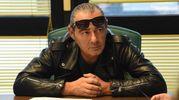 Luca Carboni alla riunione di redazione (FotoSchicchi)