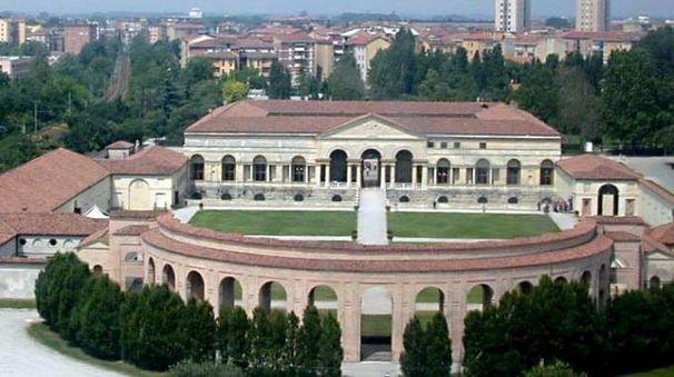 Una veduta di palazzo Te