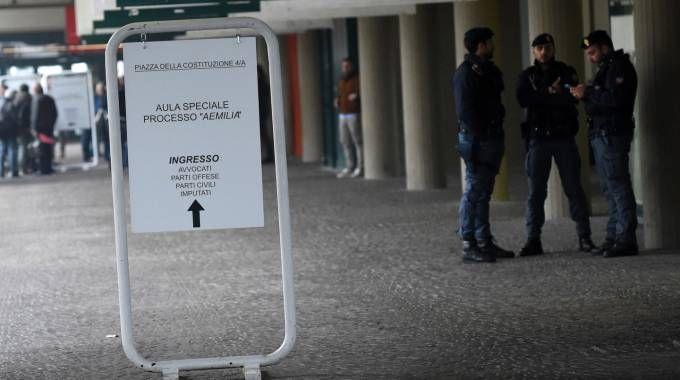 Processo Aemilia alla fiera di Bologna (foto Schicchi)