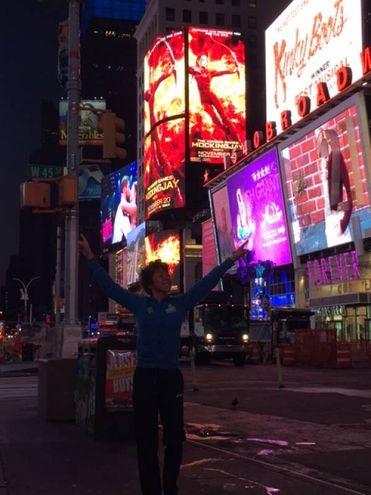 Eccomi a New York