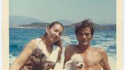 Con Maria Callas in Grecia nel 1969 (Ansa)
