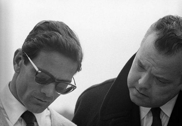 Con Orson Welles (Ansa)