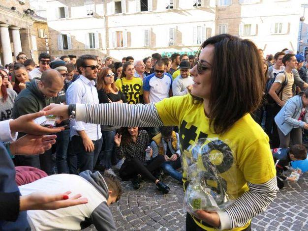 Gadget per tutti (Foto di Tiziano Mancini)